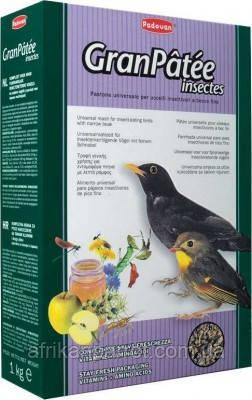 Padovan (Падован)-Granpatee insectes комплексний корм для комахоїдних птахів.(Корм багатий комахами) 1кг