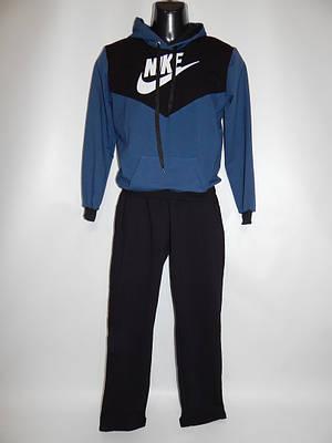 Спортивный костюм подросток с капюшоном 44-46р NIKE реплика 009