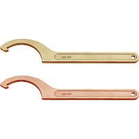 Ключ радиусный для шлицевых гаек искробезопасный 34-36 мм GARWIN (GSS-VM04)