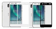 Захисне скло з рамкою для Nokia 2