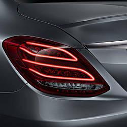 Задние диодные Led фонари для Mercedes W205