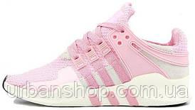 Жіночі кросівки AD EQT Running Support 93 Primeknit Barbie Pink . ТОП Репліка ААА класу.