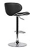Барный стул, визажный стул, стул для кассира (САЛЛИ черный), фото 3