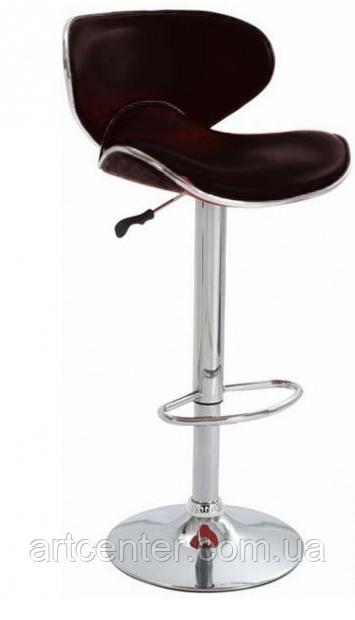 Барный стул, визажный стул, стул для кассира (САЛЛИ черный)
