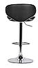 Барный стул, визажный стул, стул для кассира (САЛЛИ черный), фото 4