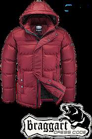 Мужская красная зимняя куртка Braggart арт. 4245