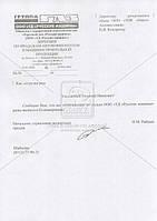 Рама ГАЗЕЛЬ, ГАЗ 3302,  в сборе L4845 мм (пр-во ГАЗ). 3302-2800010. Цена с НДС.