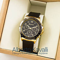 Мужские оригинальные часы Guardo gold black 04694g-1441