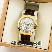 Мужские оригинальные часы Guardo gold white 04695g-1441