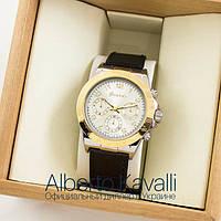 Мужские оригинальные часы Guardo gold white 04696g-1441