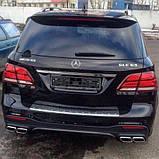 Диффузор заднего бампера на Mercedes GLE W166 AMG, фото 6