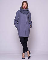 Пальто женское весна-осень со снудом Код: 1294
