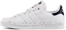Жіночі кросівки AD Stan Smith White/Black. ТОП Репліка ААА класу.