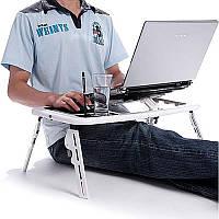 Столик для ноутбука для работы лежа в кровати, столик-подставка для ноутбука и не только E-Table