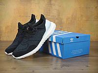 Чоловічі кросівки AD Ultra Boost Collaboration Black/White . ТОП Репліка ААА класу., фото 1