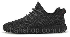 Женские кроссовки Аdidas Yeezy Boost 350 Pirate Black, черные, адидас изи буст