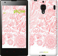 "Чехол на Xiaomi Redmi Узор v19 ""3028u-110-10408"""