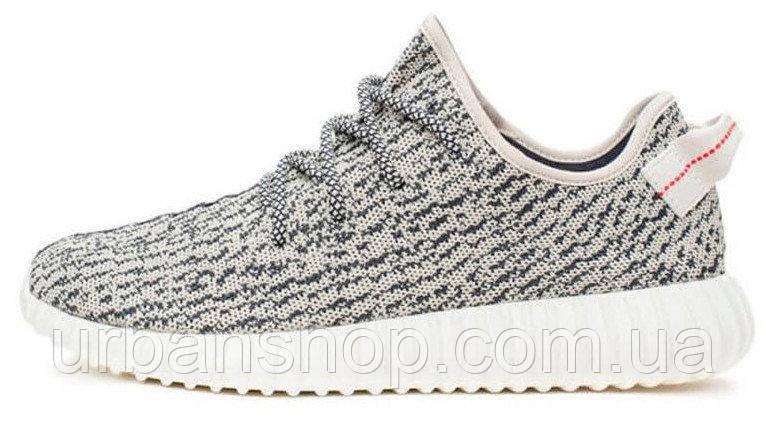 Мужские кроссовки Adidas Yeezy Boost 350 Turtle / Grey, белые, адидас изи буст