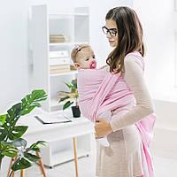 """Тканый Слинг шарф """"Сердца"""" для новорожденного для переноски детей Переноска для детей слинг не Кенгуру, фото 1"""