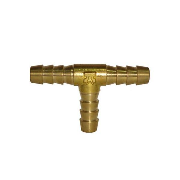 Тройник Т-образный 8 мм латунь