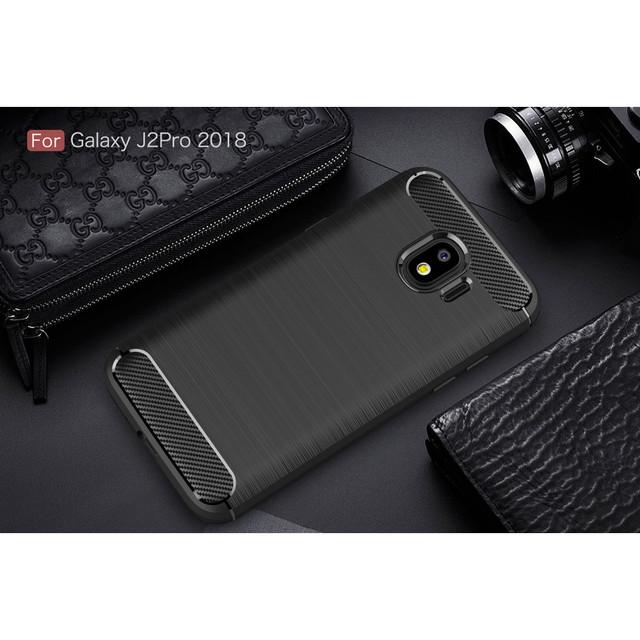 чехол на Samsung Galaxy J2 2018 накладка черный
