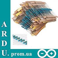 Набор резисторов, резистор 30-номиналов по 20 шт. (600 шт.) 0.25 Вт [#M-12]