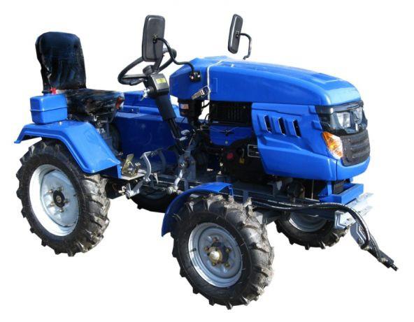 Трактор DW 160LXL(16 л.с., колеса 5,00-12/6,5-16,с гидравликой,блок  дифференциала, передний гидроцилиндр