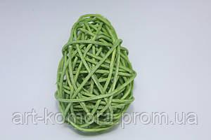 Яйцо ротанговое зеленое, 7 см