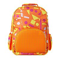 Рюкзак Upixel Geometry Neverland-Оранжевый