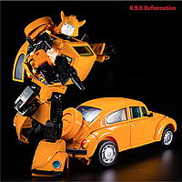 Трансформер Бамблби 19 см из м\с Мастерпис - Bumblebee MP21, Masterpiece, Kubianbao