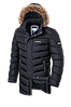 Мужская длинная зимняя куртка-парка Braggart (р. 46-56) арт. 3877
