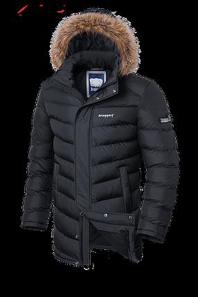 Мужская длинная зимняя куртка-парка Braggart (р. 46-56) арт. 3877, фото 2