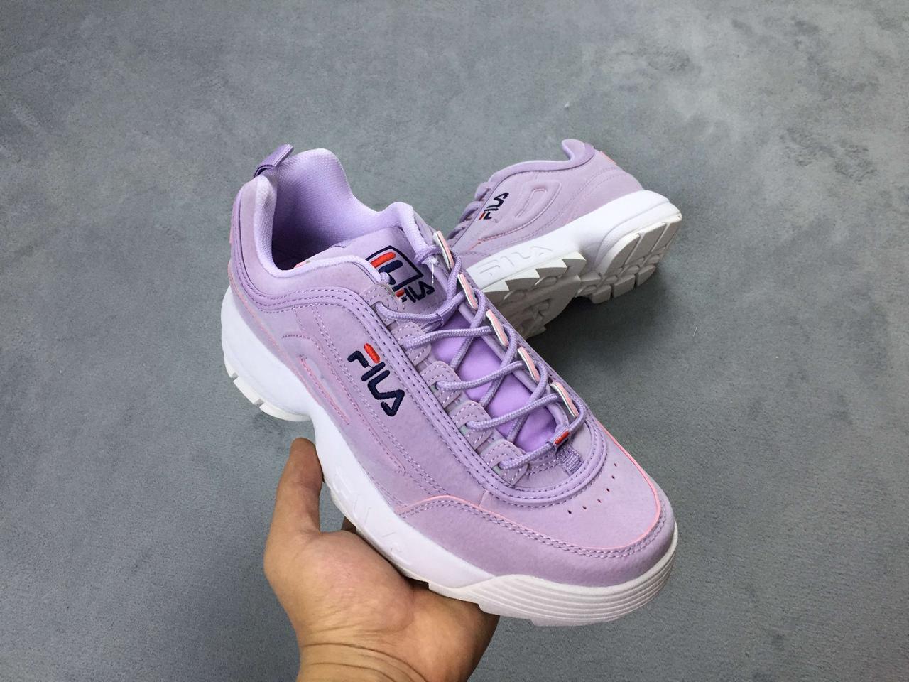 Женские кроссовки Fila Disruptor II Violet  продажа 25ec4e3afd852