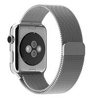 Ремешок Fnzepile Milanese Loop для смарт-часов Apple Watch 1/2/3 38 мм Silver