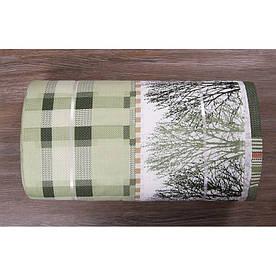 Ткань ранфорс Турция - Alexa зеленый 7684 (220 ширина, заказ от 40 м/пог)