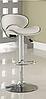 Стілець для візажиста, барний стілець, стілець для адміністратора (САЛЛІ білий), фото 5