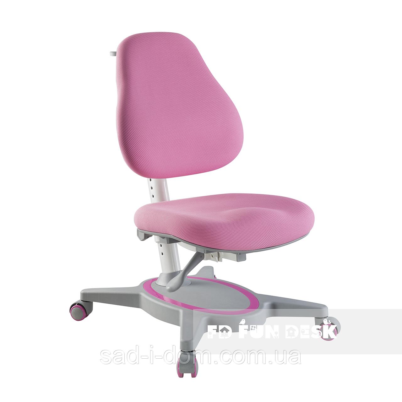 Детское ортопедическое компьютерное кресло FunDesk Primavera I розовое
