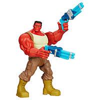 !Уценка! Фигурка Красный Халк машущий руками с оружием - Red Hulk, Toys R Us, Hasbro