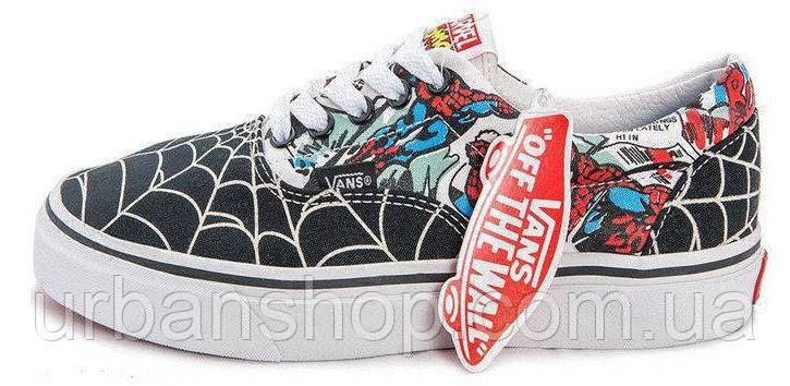 Женские кеды Vans MARVEL Spidermen, Женские кеды, ванс