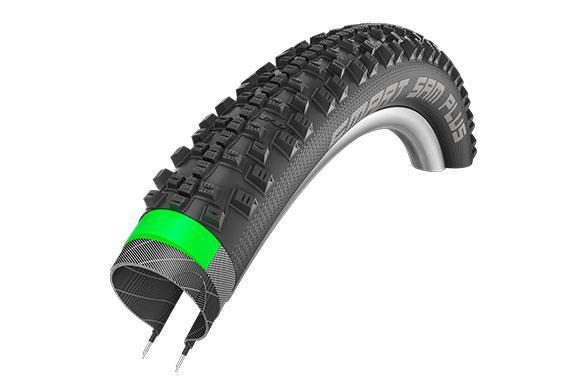 Велопокрышка Schwalbe Smart Sam Plus Performance GreenGuard 26x2,1 Addix