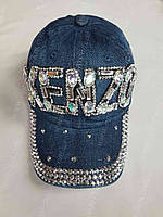 Кепка женская джинсовая купить В РОЗНИЦУ размер 56-57 недорого 7 километр Одесса