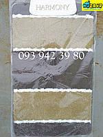 Набор ковриков для ванной и туалета 100*60, 50*60 (коричневый)