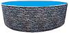 Бассейн каркасный морозоустойчивый круглый Azuro Stone 5,5 м х 1,2 м (28 м3)