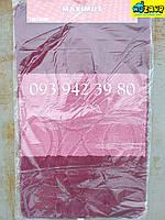 Набор ковриков для ванной и туалета 100*60, 50*60 (розово-бордовый)