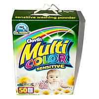 Порошок для стирки детского белья MULTICOLOR SENSITIVE 5 кг к/к