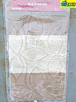 Набор ковриков для ванной и туалета 100*60, 50*60 (бежево-коричневый)