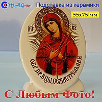 Керамическая икона на подставке 06