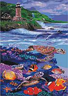 Картина по номерам Водный мир (KHO4031) 35 х 50 см [Без коробки]