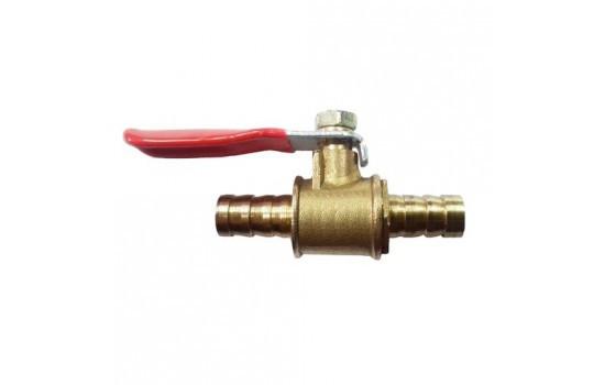 Краник для распылителя на 1 выход 8 мм (латунь)