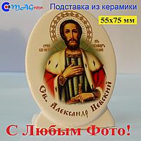 Керамическая икона на подставке 08